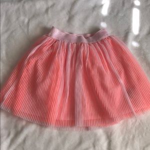 Cat and jack pink skirt